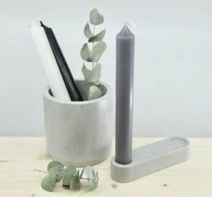 Paname Workshop, objets du quotidien en béton, lisse, doux et soigné