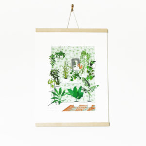 Akabé Paris, créations poétiques illustrées