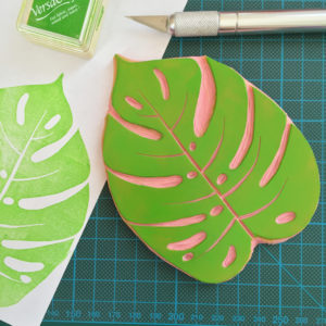 Kraftille, créatrice de tampons en gomme personnalisé et d'accessoires imprimés à la main