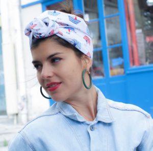 La Parisienne du Turban, turbans et accessoires de tête originaux et exclusifs, faits à la main, à Paris.