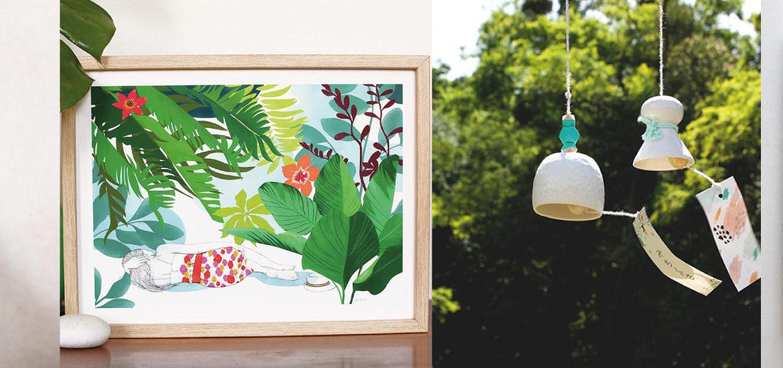 Créations de la team Petit Paris : Akabé, Thevy's Herbarium, Coutureforeverybodiy , Ellimac Pinson, Atelier Tsukumogami